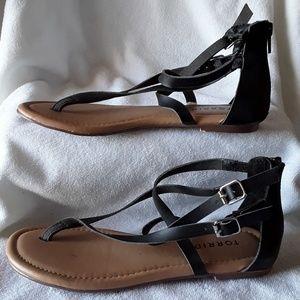 Torrid sandals. MAKE REASONABLE OFFER 😀